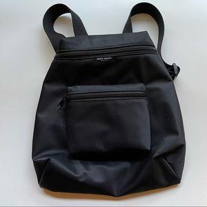 Kate Spade black nylon small backpack